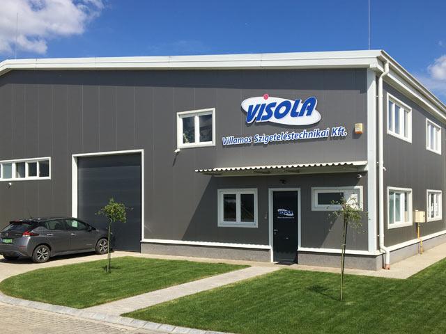 Premises of VISOLA Ltd at Nagytarcsa